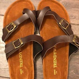 New boutique sandals